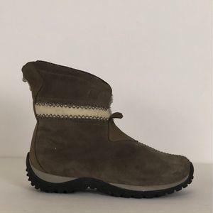 Sorel Nicolet Waterproof Suede Insulated Boots